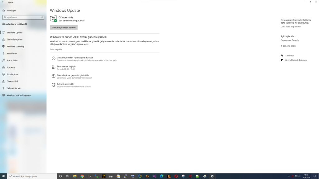 Windows %100 Disk