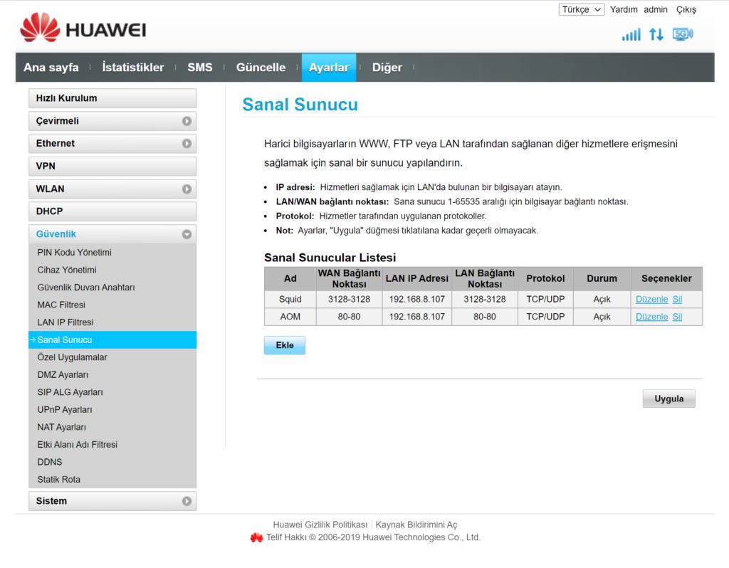 Windows10 Squid Proxy Server